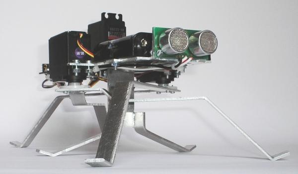 Pivot Hexapod Robot Design and Building